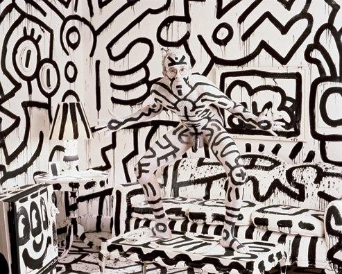 Annie Liebovitz - Keith Haring