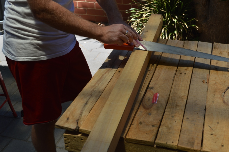 Pallet Projects - Marking yout timber