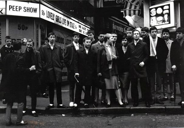 Mods meet in London's West End