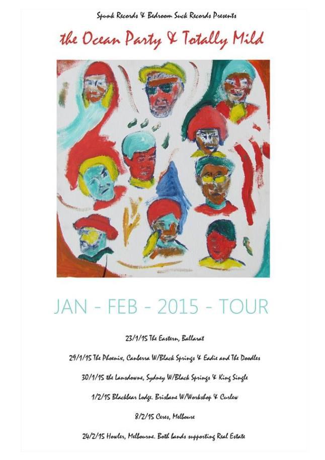 Ocean PArty Tour poster