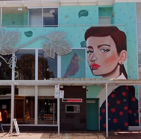 Lisa King Mural