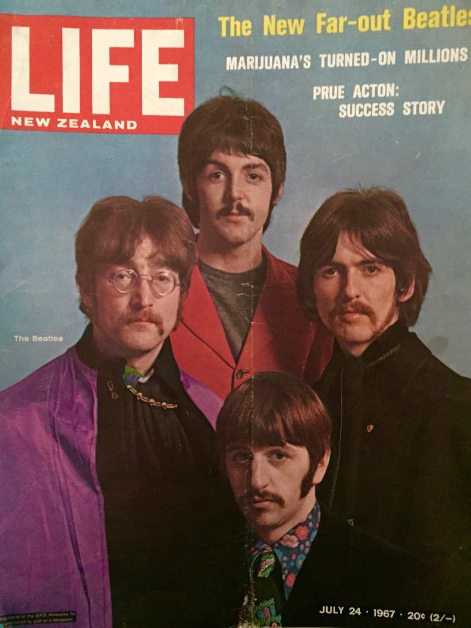 The New Far-Out Beatles - LIFE Magazine (NZ) cover, July 1967