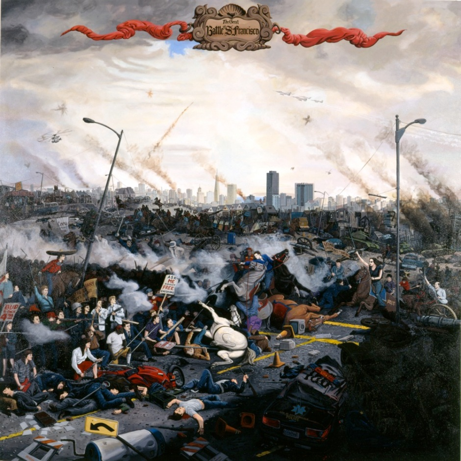 Sandow Birk - Battle of San Francisco