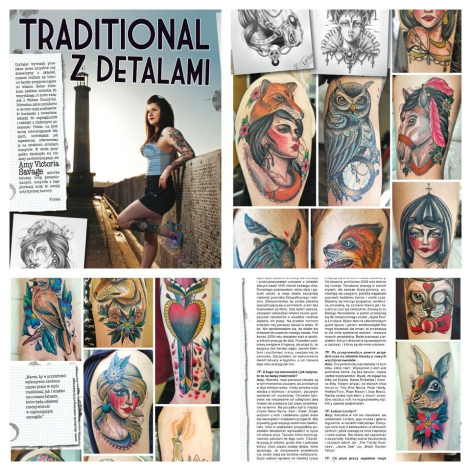 Tattoofest Magazine Feature
