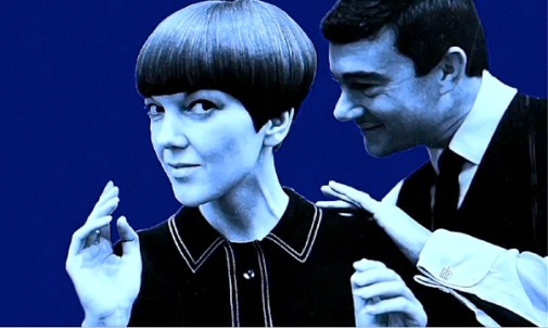 Vidal Sassoon goes to work on Mary Quant
