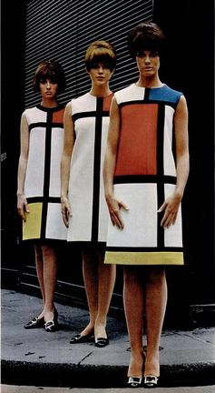 YSL Colour Block Dress 1965